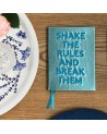 Carnet ¨Shake the rules and break them¨