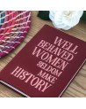 Carnet ¨Well behaved women¨